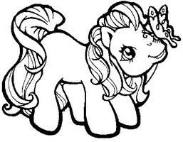 My Little Pony Lineart 4