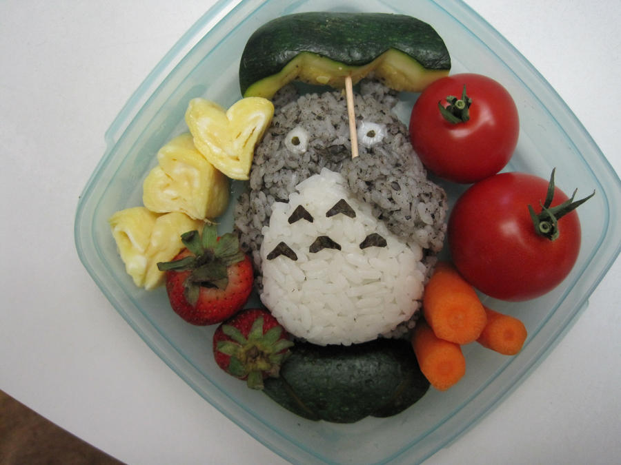 Totoro Bento by pradlee
