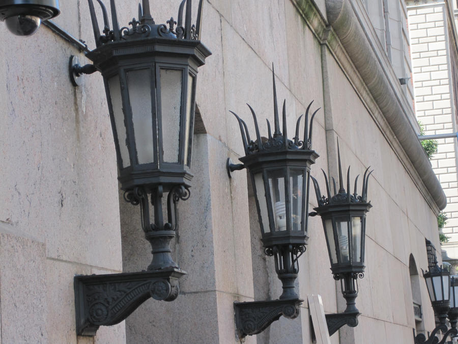 Spiked Gothic Lamps By Pradlee ...