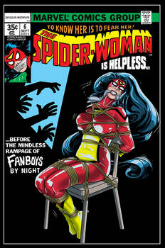 Spider Woman Issue 6 Cover Reimagining
