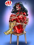 SpiderWoman Classic Balltie Commission Final
