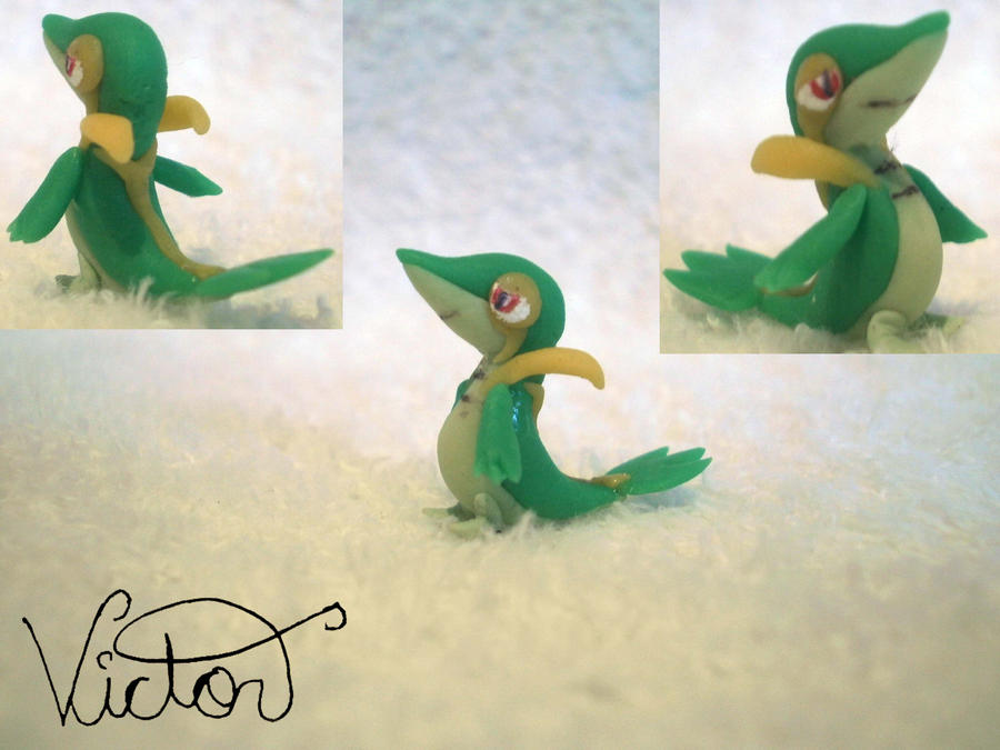 495 Snivy by VictorCustomizer