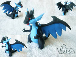 Mega Charizard X by VictorCustomizer