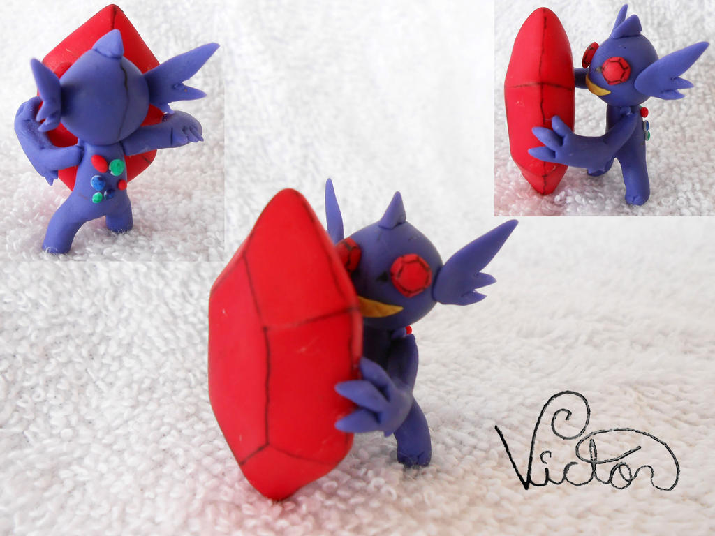 Mega Sableye by VictorCustomizer