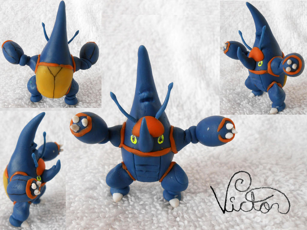 Mega Heracross by VictorCustomizer