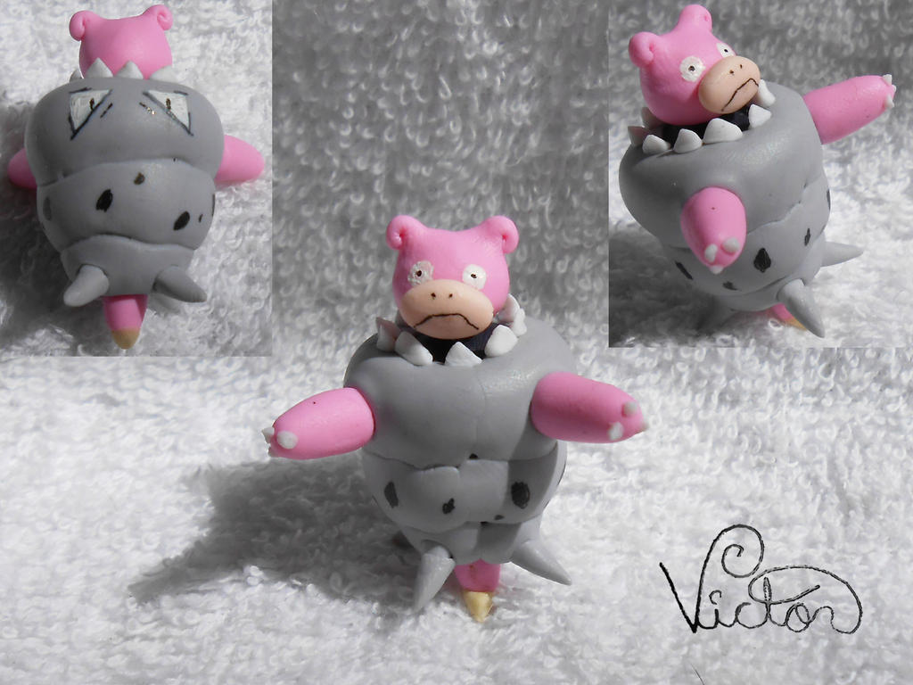 Mega Slowbro by VictorCustomizer