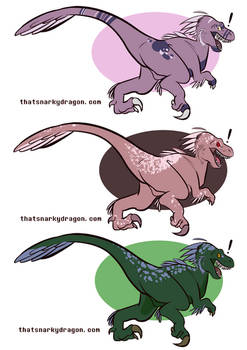 Velociraptor Adopts! - $10