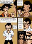 Dragonball Comic: the legend of Mr. Satan page 2 by RastaSaiyaman
