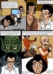 Dragonball Comic: the legend of Mr. Satan page 3 by RastaSaiyaman