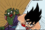 Dragon Ball, Goku Versus Piccolo by RastaSaiyaman