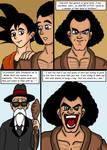 Dragonball Comic: the legend of Mr. Satan page 4 by RastaSaiyaman