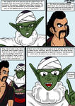 Dragonball Comic: the legend of Mr. Satan page 44 by RastaSaiyaman