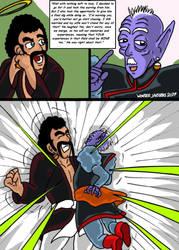 Dragonball Comic: the legend of Mr. Satan page 132 by RastaSaiyaman