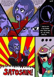 Dragonball Comic: the legend of Mr. Satan page 142 by RastaSaiyaman