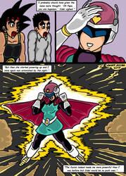 Dragonball Comic: the legend of Mr. Satan page 143 by RastaSaiyaman