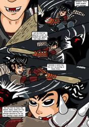 Teenage Mutant Ninja Turtles. Bat Vs Bat Page 5. by RastaSaiyaman