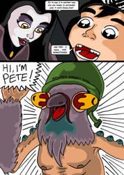 Teenage Mutant Ninja Turtles. Bat Vs Bat Page 8. by RastaSaiyaman
