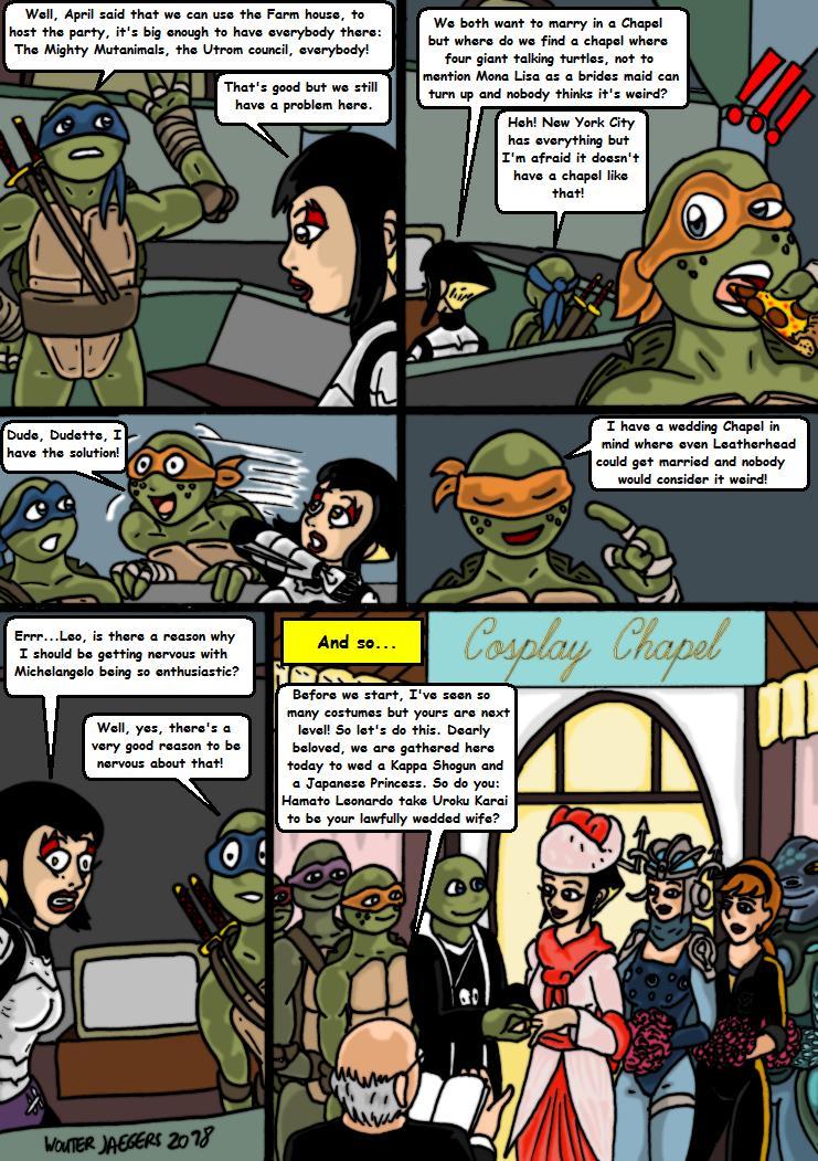 leonardo tmnt comic art