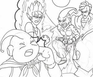 Dragon Ball, Legend of Mr Satan reject, Kid Buu by RastaSaiyaman