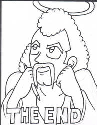 Dragon Ball Legend of Mr Satan, reject. Mr. S. by RastaSaiyaman