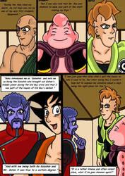 Dragonball Comic: the legend of Mr. Satan page 157 by RastaSaiyaman