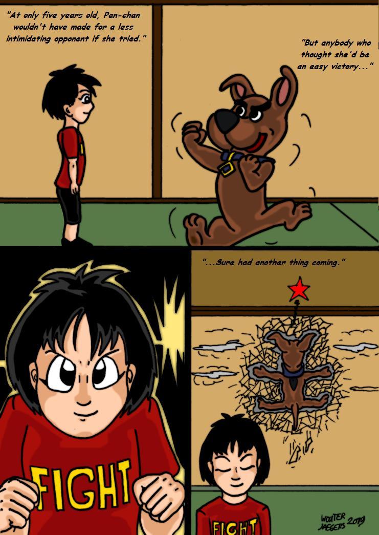 Dragonball Comic: the legend of Mr. Satan page 161 by RastaSaiyaman