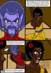 Dragonball Comic: the legend of Mr. Satan page 163 by RastaSaiyaman