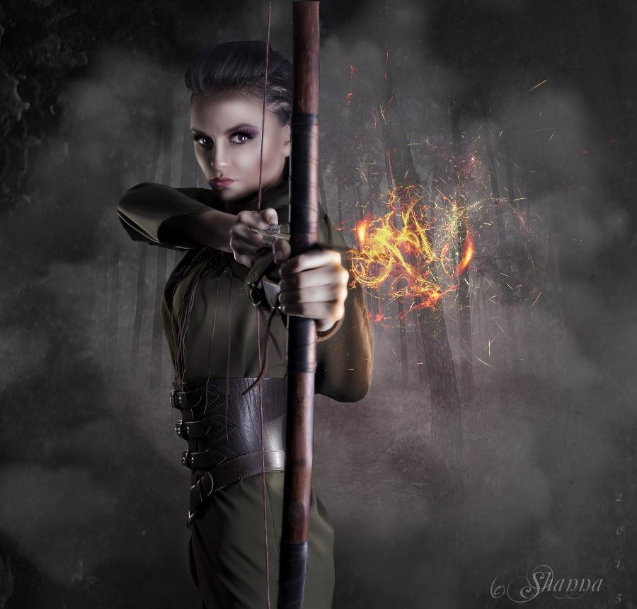 Fire Warrior by Shann2j