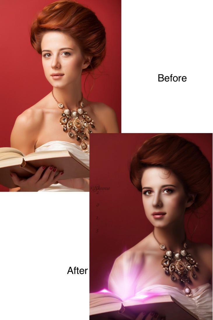 The Librarian Before/After by Shann2j