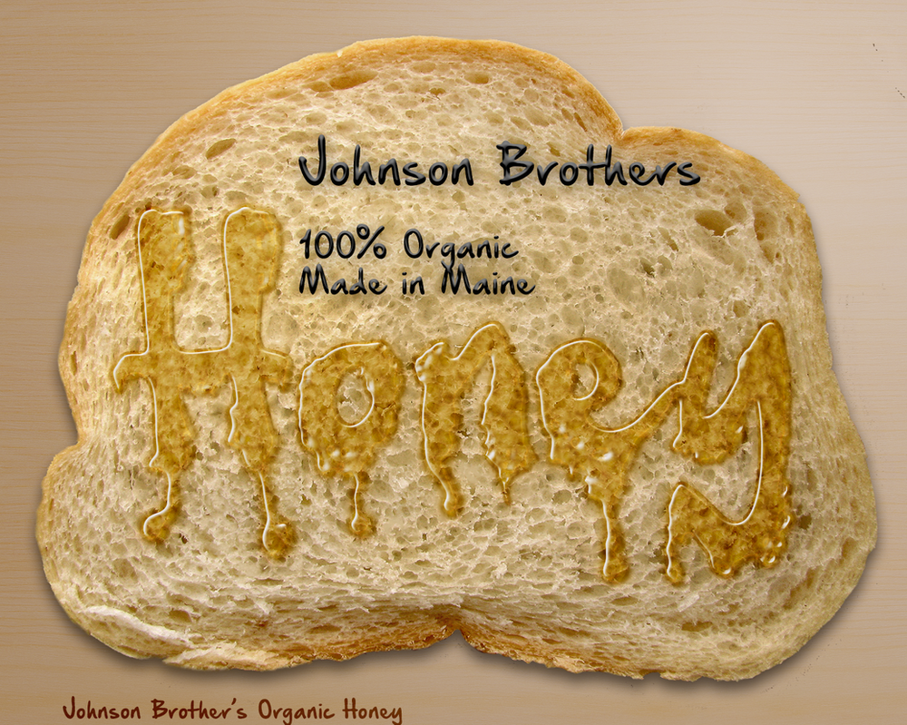 Honey Typography Advert by Shann2j