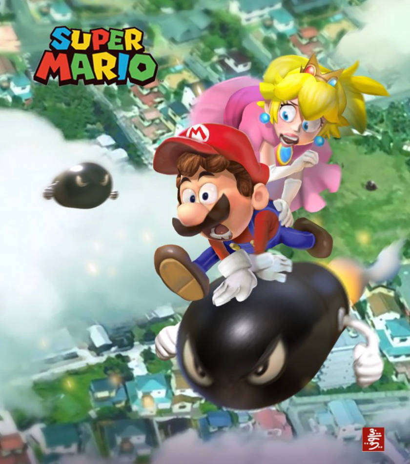 Illumination Super Mario Poster