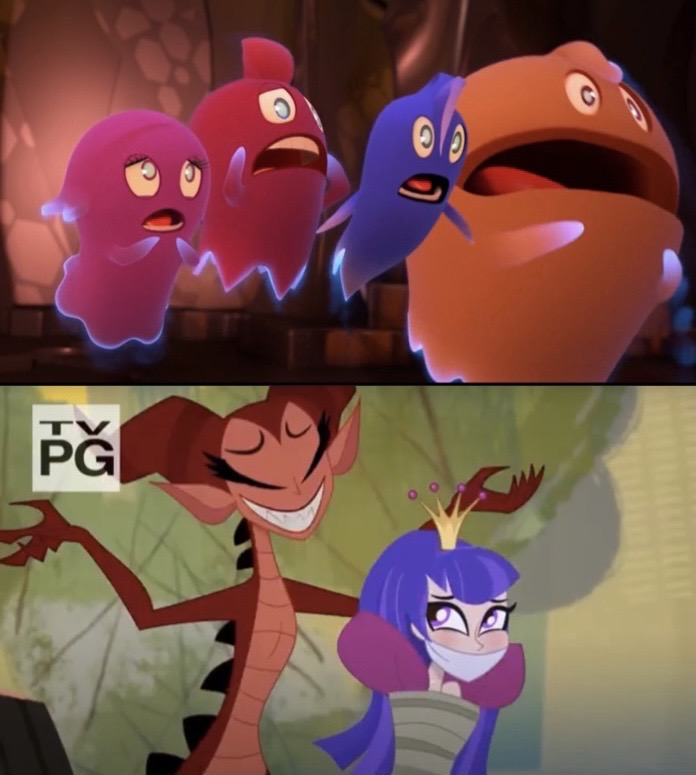 Pac-Ghosts React To Princess Zatanna Kidnapping