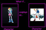What If Rainbow Dash Cosplays As Speed Racer