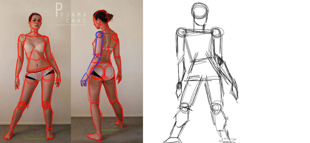 Sketch This: Gesture Drawing Lvl 2 by Diathima