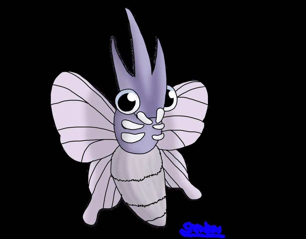 Venomoth by Snewbew