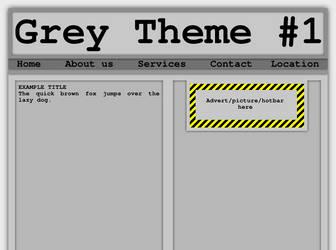 Grey Theme #1 by Martin-Dutchie