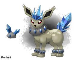 Fakemon: Crystaleon by BihMortari