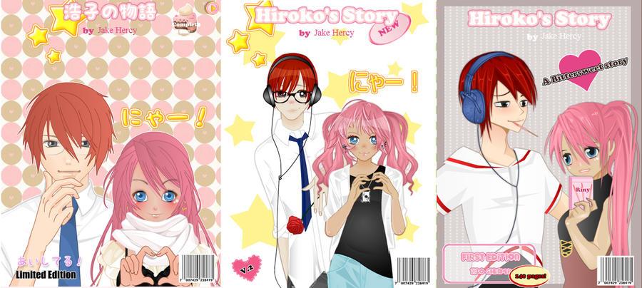 Hiroko's Story Shoujo Manga Covers by JakeHercy on DeviantArt