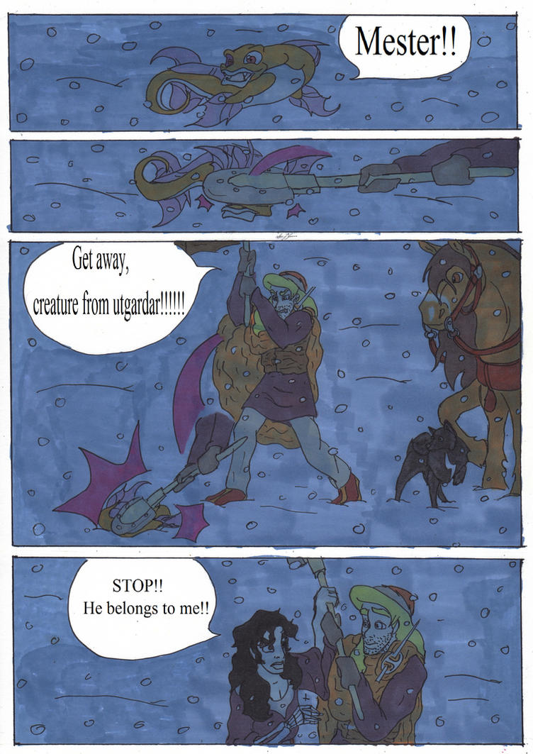 Mozenrath and The Viking's . page 196 by ann-josefa on DeviantArt on