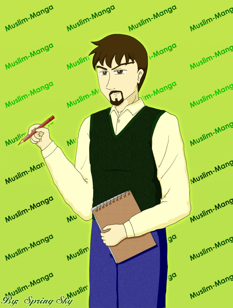 Muslim Artist-MM male OC