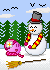 Making a Snow Man by spring-sky