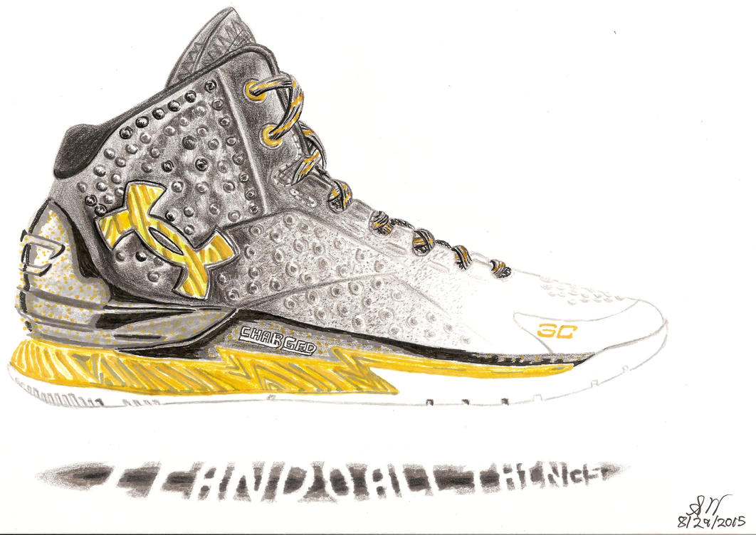 Stephen Curry Shoes by swu16