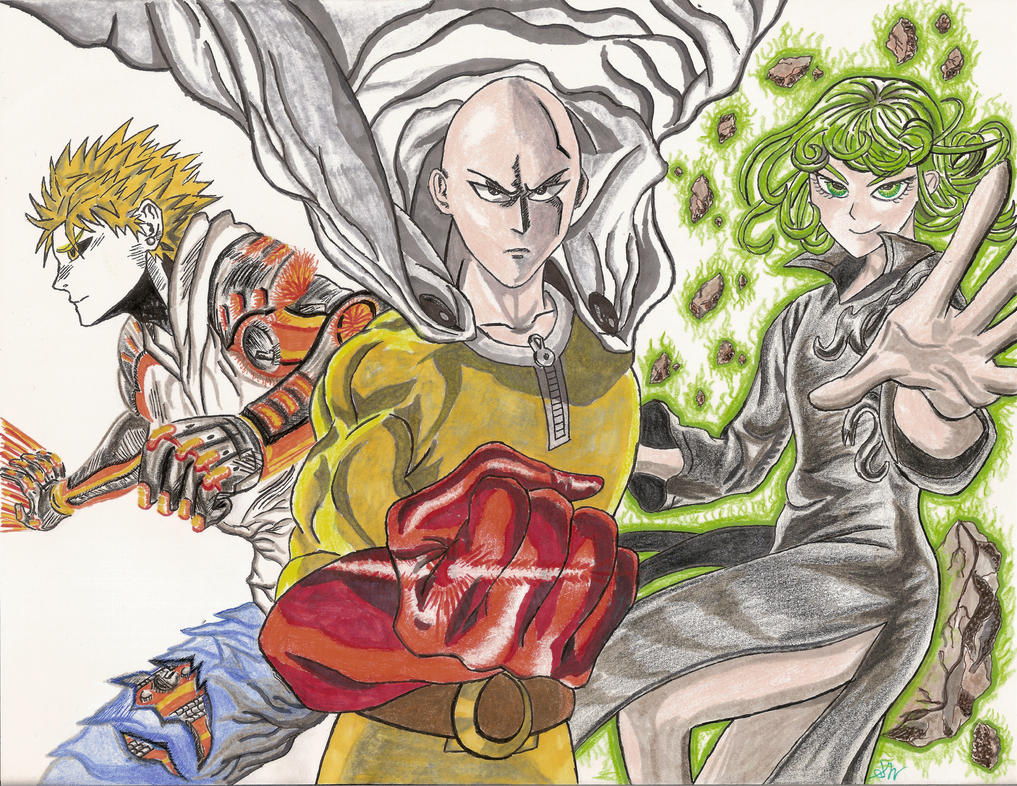 One Punch Man by swu16