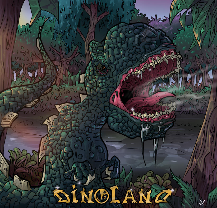 Dino land by Jzzsmooth