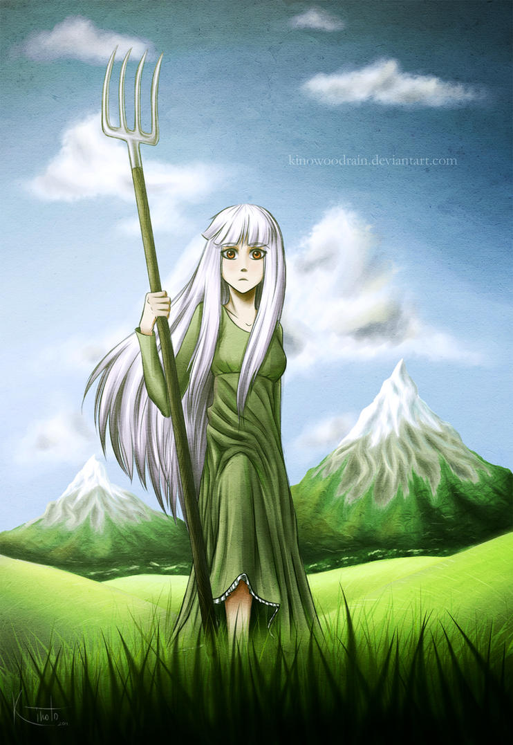 Holy Jeanne by KinoWoodRain