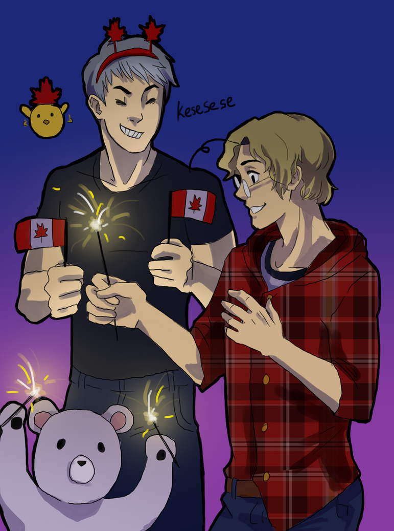 HappyCanadaDay by Itachei
