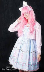 GLW Shoot - Blue Bunny Dress