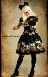 Violin Doll 2 by larkir