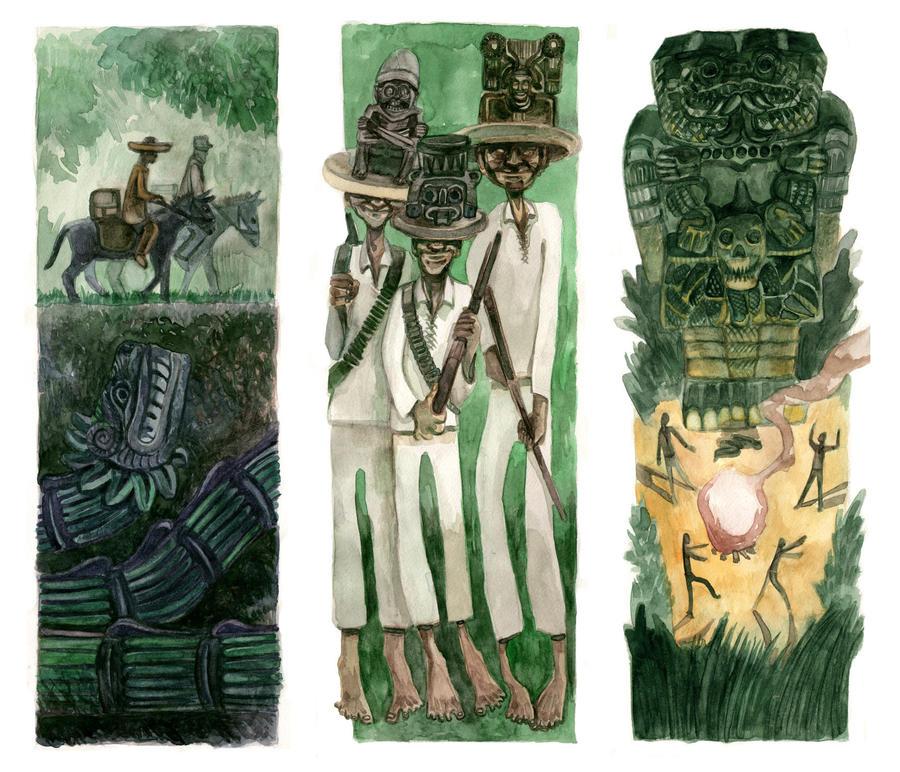 Huitzilopochtli, un cuento americano by Themaze