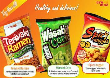 Snacks Brochure by Moonknight